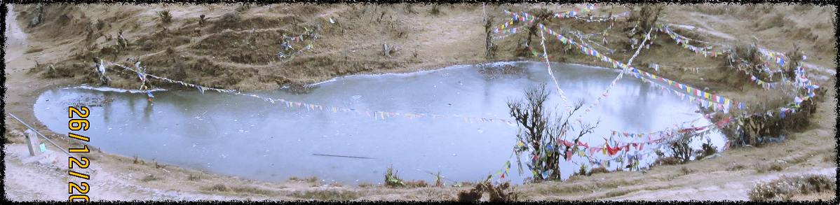 Frozen Lake at Kalapokhari