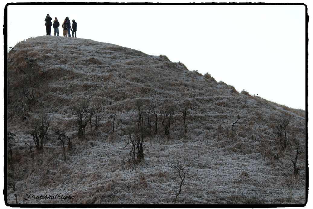Its Moon-Walk (Walked up the hill to have a glimpse of moon)